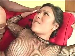Black Dude Drills Naughty Asian Sweetie 2