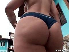 Booty Brunette Is Posing For Your Pleasure 1