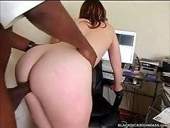 Hot shaped white milf Sadie loves to feel big black cock inside her cunt.