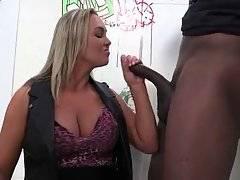 Breasted Milf Tastes Massive Black Cock 1