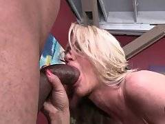 Two Black Guys Are Sharing Pretty White Milf 2