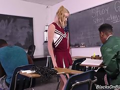 Now, they`re all supposed to use A Hour to study and make good grades; instead, one bored and horny cheerleader -- Hannah Hays -- wants nothing to do with books. Hannah is all about the BBC, and she doesn`t care how or where she gets it. She`s such a naug