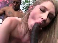 Summer Carter Gets Fucked By Tough Black Guys 3