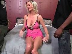 Awesome white milf Allison Kilgore is always black cock hungry.