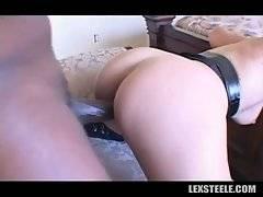 Toned Black Dude Bangs Breasted Hottie 3