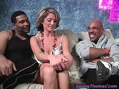 Sexy Spring Thomas Is Very Black Cock Hungry 1
